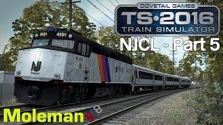 Train Simulator 2016 | North Jersey Coast Line Part 5 | NJTransit F40PH-2CAT