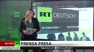Estudian prohibir alquilar estudios a RT en Alemania