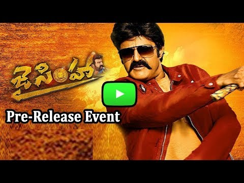 Jai Simha Pre-Release Event | Balakrishna...