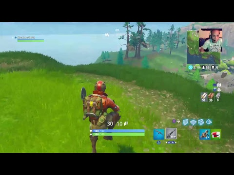 Fortnite gameplay w/Anthony T Gaming