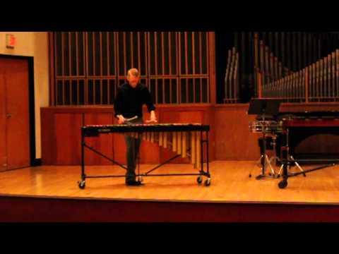 Travis Newman, Vibraphone - Prelude in E minor by Chopin