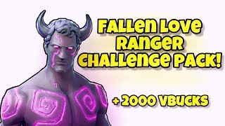*NEW* Fallen Love Ranger Challenge Pack! Fortnite Battle Royale (FALLEN LOVE RANGER & FREE V-BUCKS)