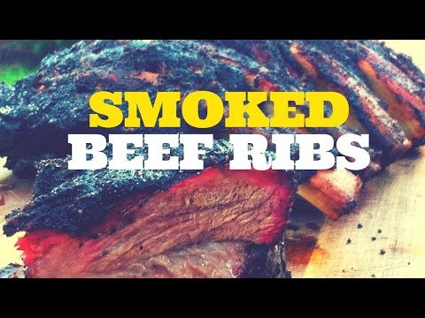 BBQ Smoked Beef Ribs on the Weber Kettle Grill with the Slow 'N Sear