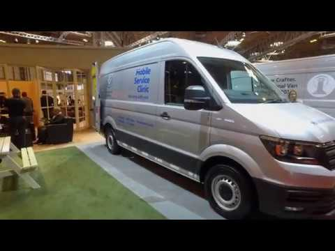 The MSC Crafters | The 2017 Commercial Vehicle Show | Volkswagen Commercial Vehicles