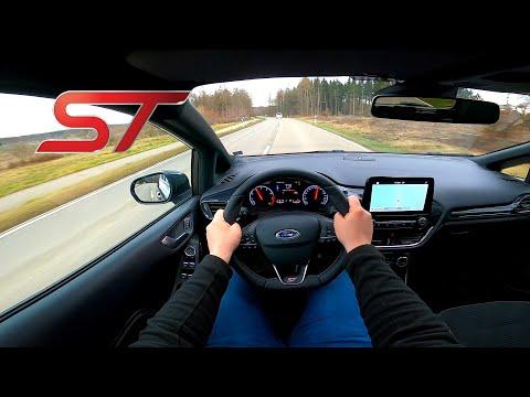 2020 Ford Fiesta ST 1.5 Turbo - POV Drive (60FPS) | VZ Driving