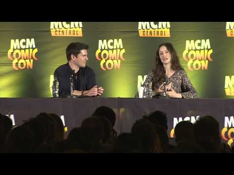 MCM London Comic May 2017: Firefly Sean Maher and Summer Glau
