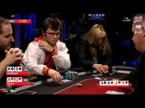 Poker Night In America | Live Stream | 11-20-15 | Part 3 of 3 | Rivers Casino – Pittsburgh, PA