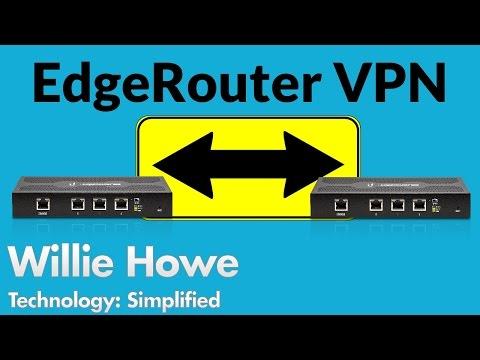EdgeRouter IPSec Site-to-Site VPN Setup