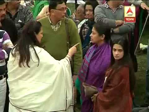 Mithun Chakraborty partipates at Suchitra Sen's last rite