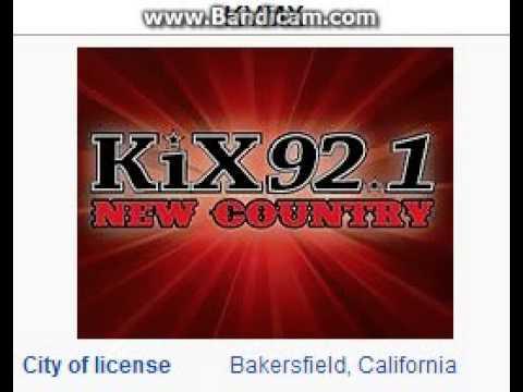 KVMX 92.1 KiX Bakersfield, CA TOTH ID at 9:00 p.m. 7/27/2014