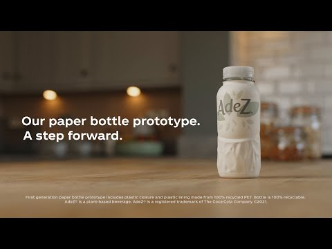 Our Paper Bottle Prototype - A Step Forward