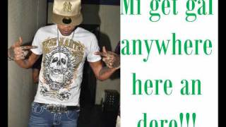 Vybz Kartel ft Russian - Get gal anywhere {RAW} (LYRICS ON SCREEN) June 2011.