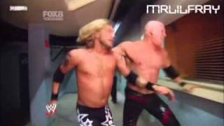WWE Smackdown 2011 Edge vs Kane Last Man Standing Match Part 1