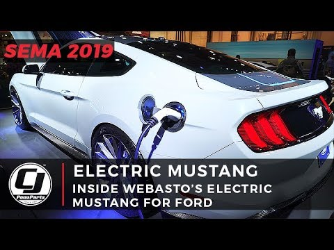 Inside Look At Webasto's 900 HP, 1000 Lb-Ft of Torque Ford Lithium Mustang!