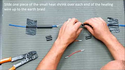 How to repair Warmup floor heating cable