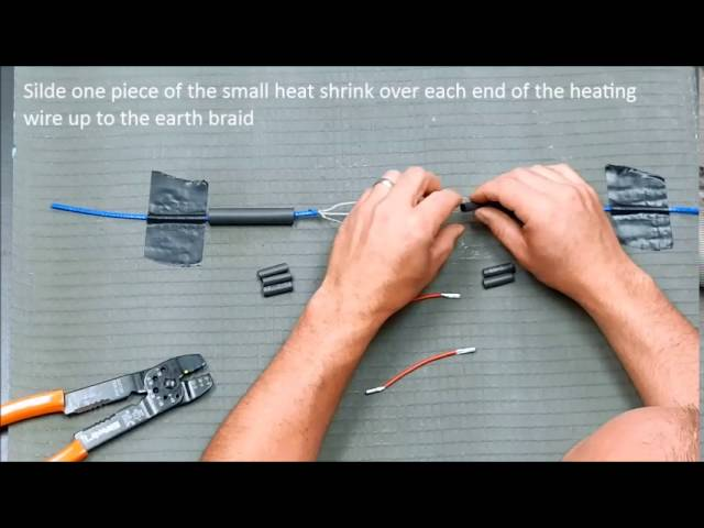 Repair Warmup Floor Heating Cable