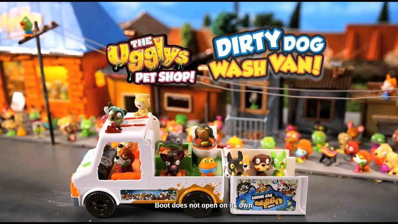 cd9dc3c092 The Ugglys Pet Shop Dirty Dog Wash Van TV Commercial - YouTube