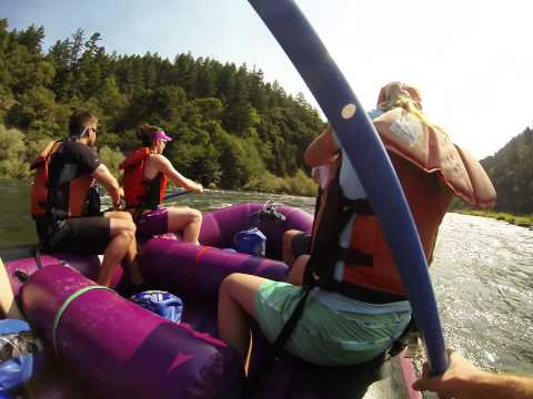 Paddling the Rogue River with Columbia #Omniten