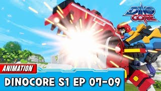 [DinoCore] Compilation | S01 EP07 - 09 | Best Animation for Kids | TUBA n