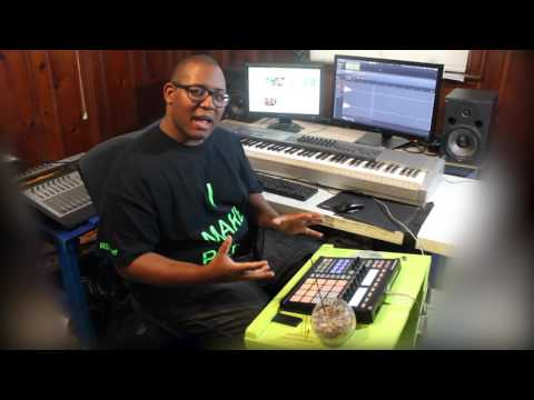 Remaking Michael Jackson Can't Let Her Get Away Maschine mk1 used