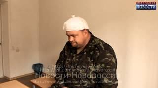 УКРАИНА НОВОСТИ СЕГОДНЯ Пленный украинский военный Александр