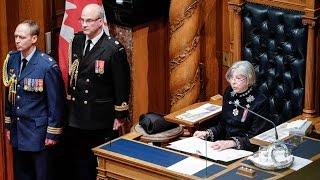 Throne Speech 2015 - FULL