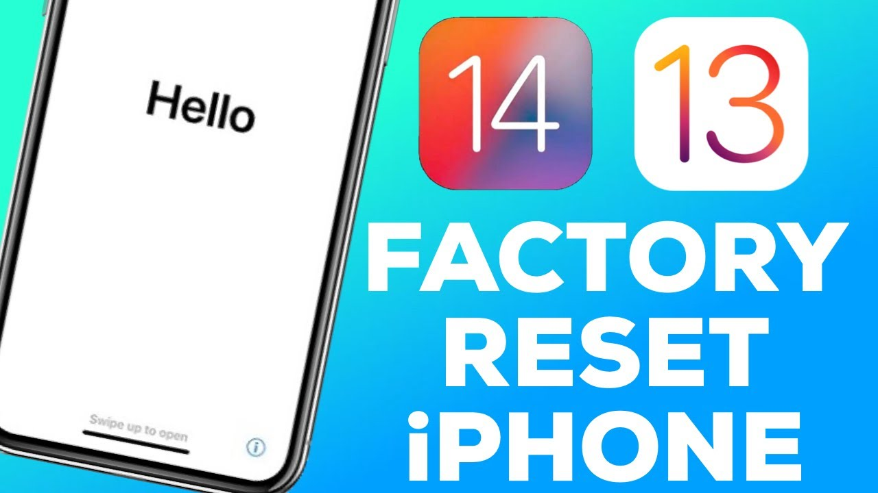 [2020] How To Factory Reset/Reset Your iPhone 7 - iPhone 11 (iOS 13/14)