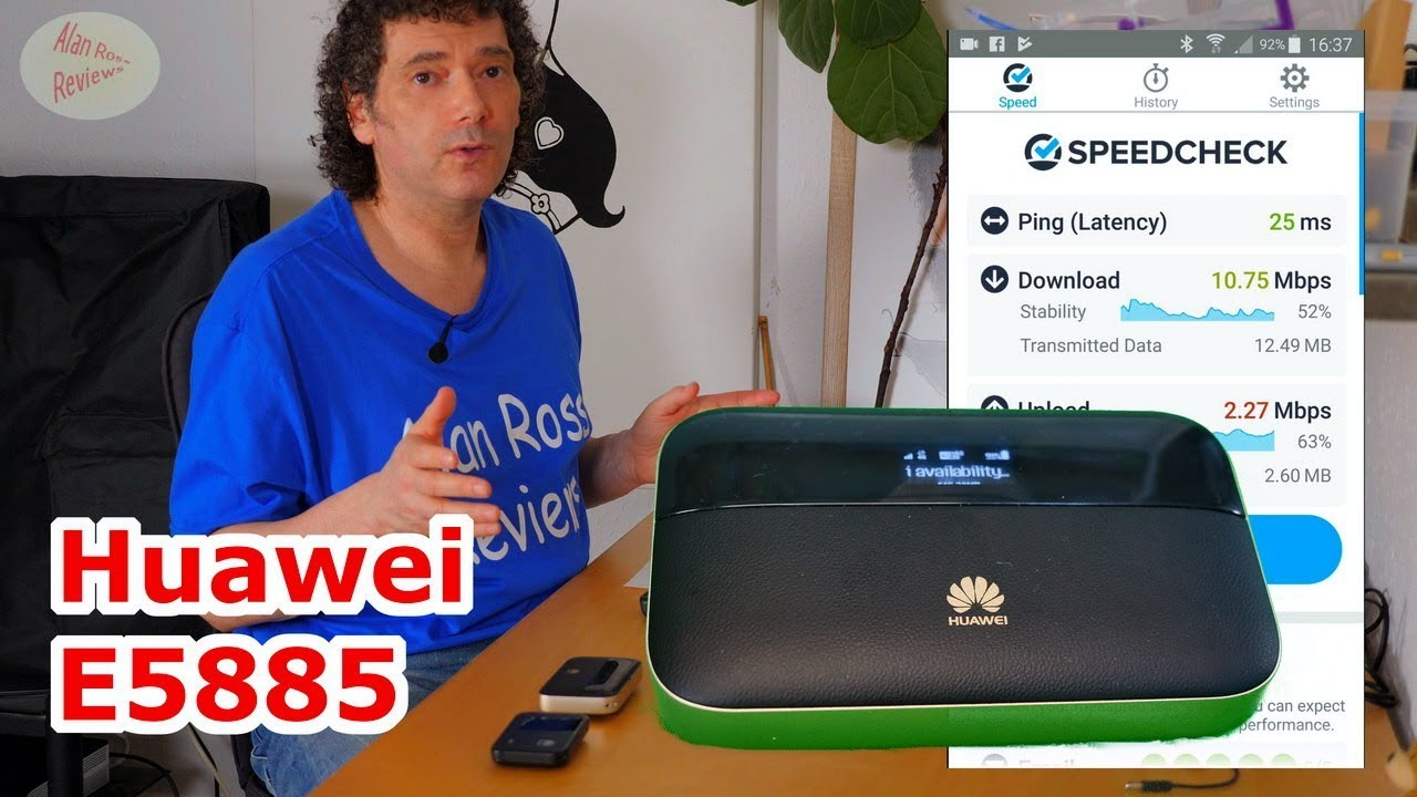 Huawei mobile WiFi pro2 - e5885 router review - mobile WiFi - vs e5372