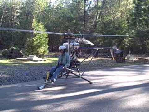 First9Tries to fly a Mosquito Ultralight Helicopter, GB103