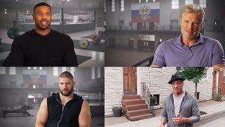 CREED II (2018) On Set Cast Interviews | Michael B. Jordan, Sylvester Stallone Rocky Movie HD