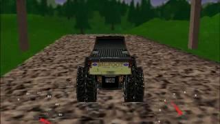 Microsoft Monster Truck Madness Gameplay (Circuit)