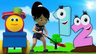 eins zwei Wölbung mein Schuh | Kinder lied | Educational Video | Bob Train One Two Buckle My Shoe