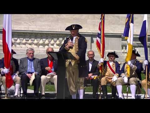 George Washington speaks about Polish & US hero Thaddeus Kosciuszko