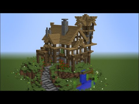 Building the Best Rustic Medieval House in Minecraft - Best
