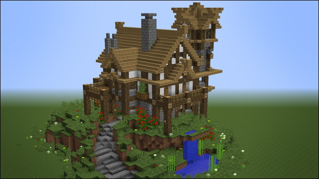 Building The Best Rustic Medieval House In Minecraft