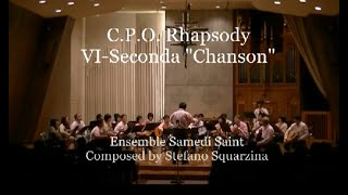 "Title: C.P.O. Rhapsody VI-Seconda ""Chanson"" 作曲:ステファノ スカル..."