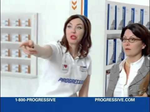 PROGRESSIVE Commercials (Flo)