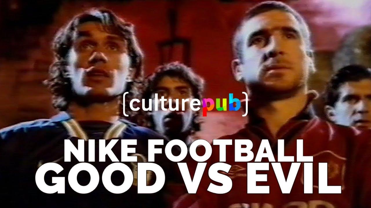 En mettant en avant éric cantona, oxmo puccino ou encore marianne, la marque à la. Nike Football Good Vs Evil Ma Culture Pub Youtube