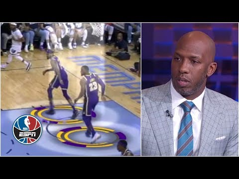 Chauncey Billups breaks down LeBron, Lakers' defensive issues: 'No effort, no pride' | NBA Countdown