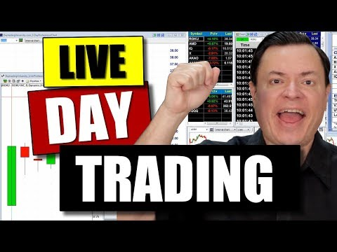 Day Trading The Open: LIVE Gaps, Tape Reading with Ken Calhoun
