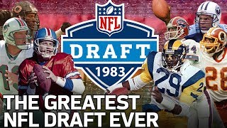 The Greatest NFL Draft of All-Time | NFL Vault Stories