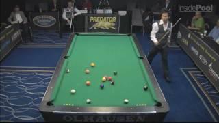 Thorsten Hohmann vs Alex Pagulayan Pt 1 at the World 14.1 Tournament