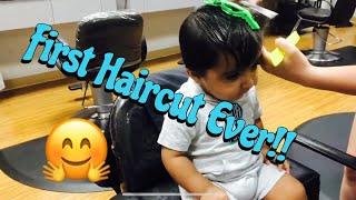 Goodie's FIRST hair cut!!