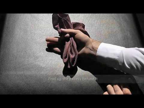 6 способов как сложить платок в карман пиджака.