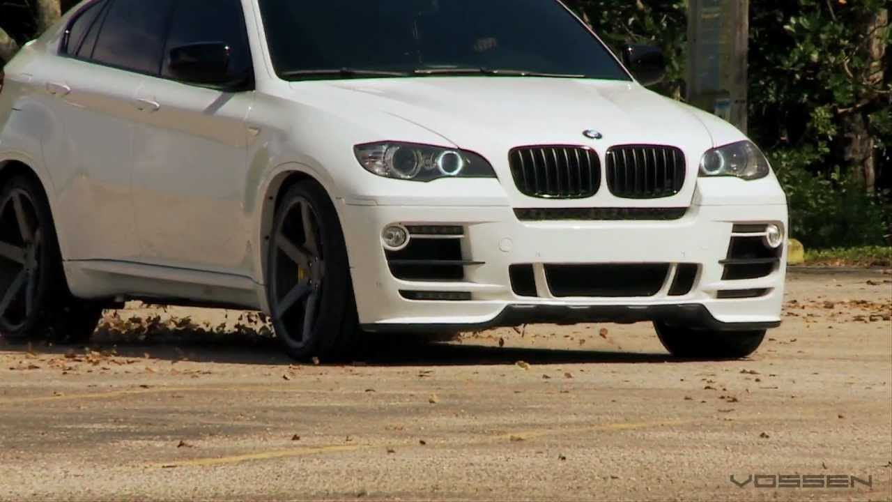BMW X6 on 22 Vossen VVS-CV3 Concave Wheels Rims - YouTube2 ...