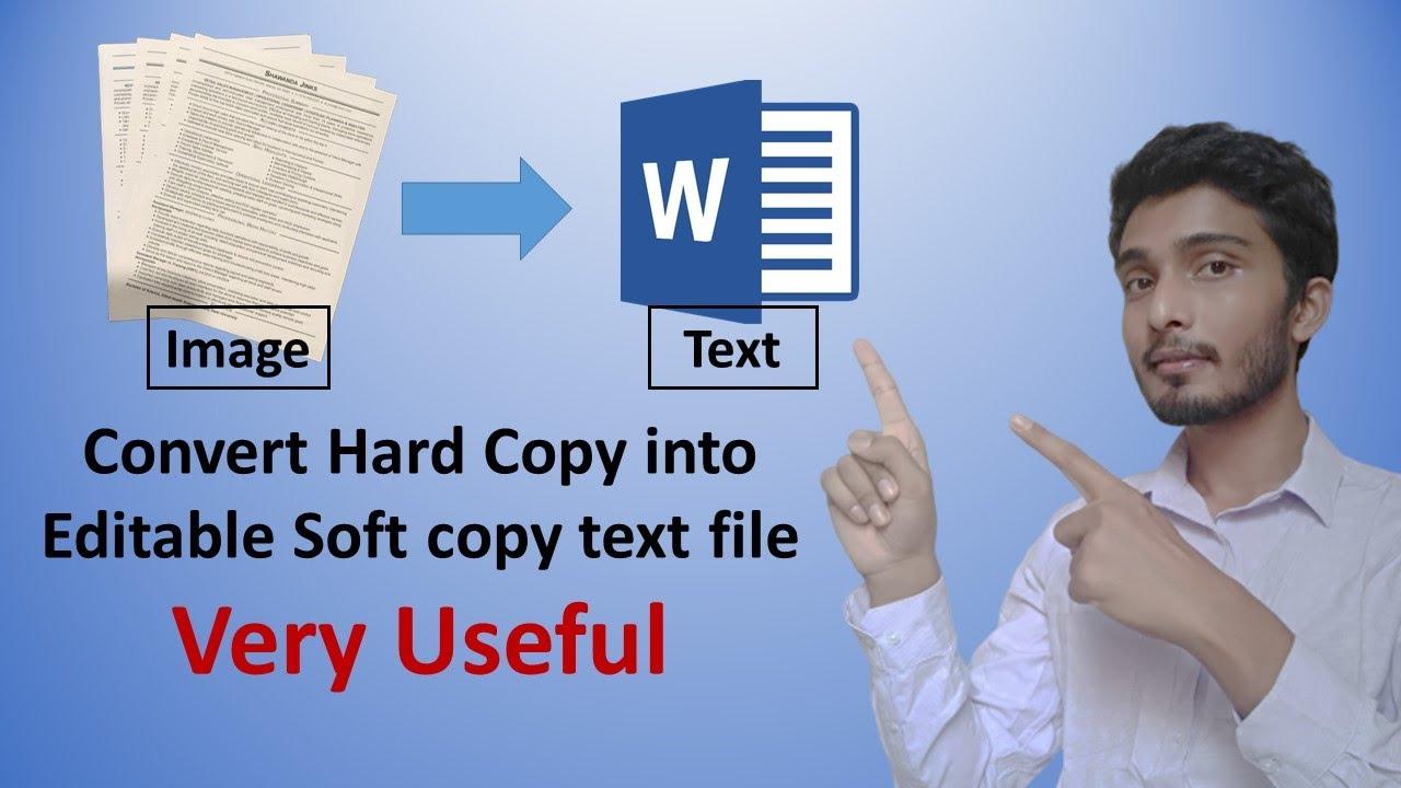 Download Convert image to text | Hard copy se soft copy banaye | Hindi | Latest 2020 |