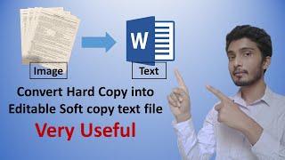 Convert image to text | Hard copy se soft copy banaye | Hindi | Latest 2020 | screenshot 3