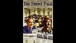 Первая полоса / The Front Page - фильм экранизация одноимённой бродвейской пьесы