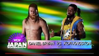 WWE 2K18 Rating WWE 7 tour Daniel Bryan vs. Kofi Kingston