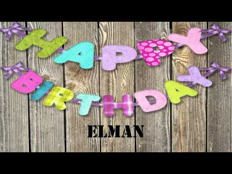 Elman   wishes Mensajes